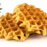 Marijuana edibles belgian waffles