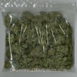 Marijuana airtight sealbag