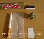Roll cannabis joint