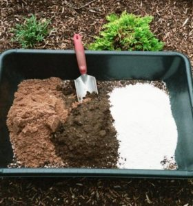Make your own soil weed