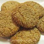 Cannabis cookies sesame