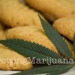 Sesame marijuana cookies