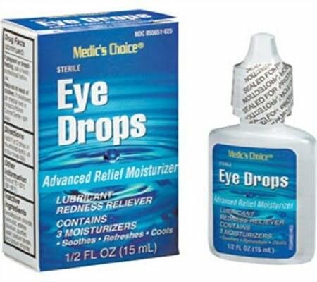 Chemical adulterants eye drops