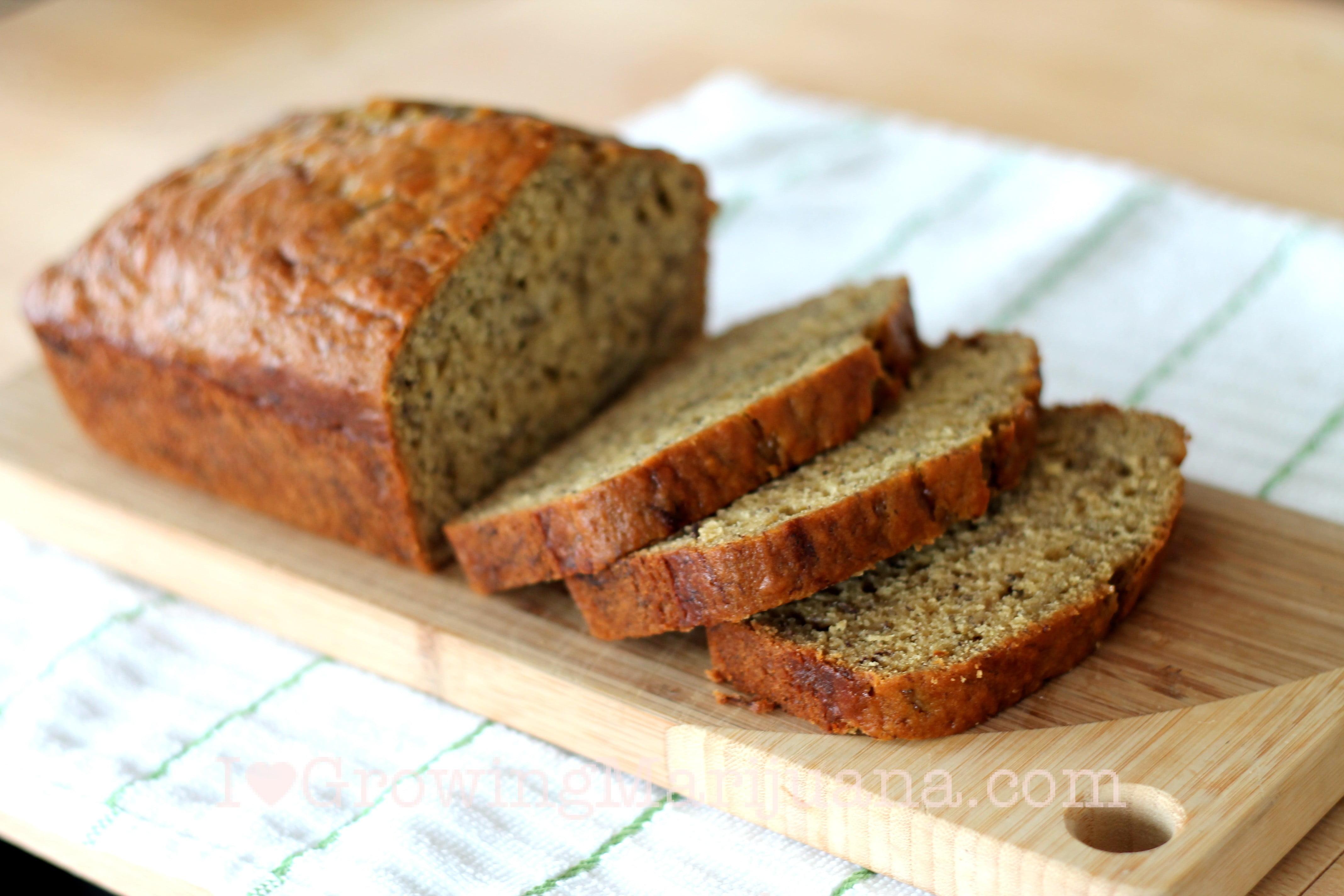 Marijuana Recipe Banana Bread