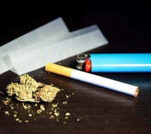Marijuana blood drug test