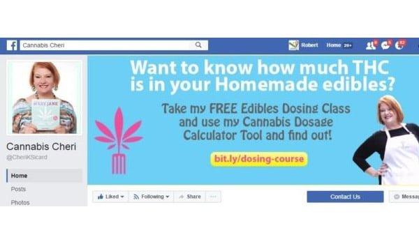 Cannabis Cheri Facebook Page