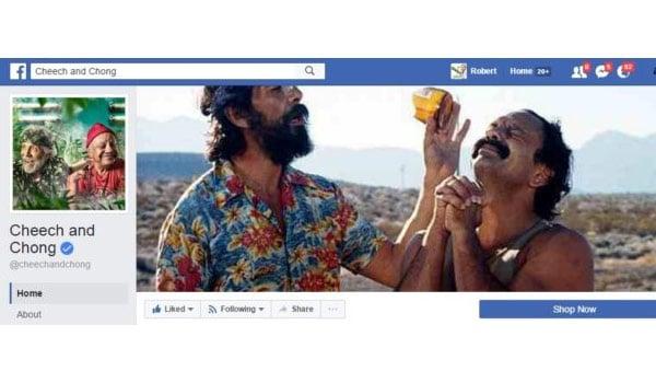 Cheech and Chong Facebook Page