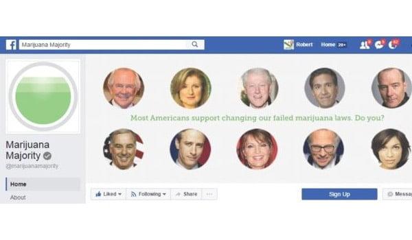 Marijuana Majority Facebook Page