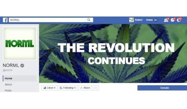 NORML Facebook Page