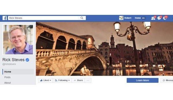Rick Steves Facebook Page