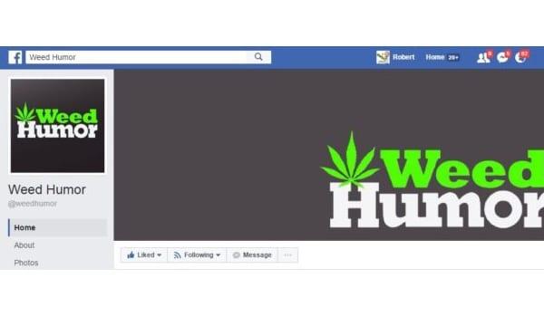 Weed Humor Facebook Page