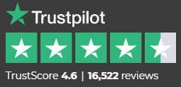 Trust Pilot Score