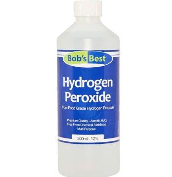 Add Hydrogen Peroxide