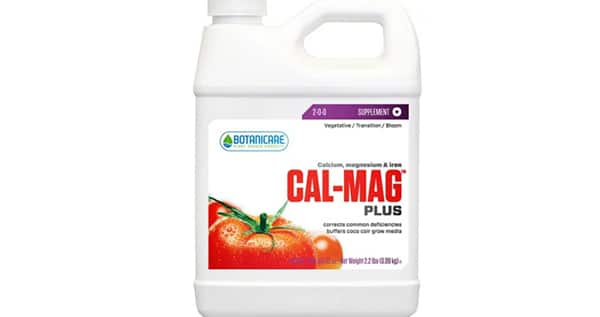 Cal-Mag for weed plants