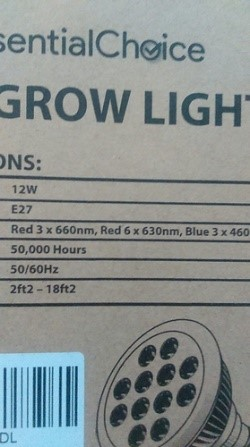 new LED red and blue