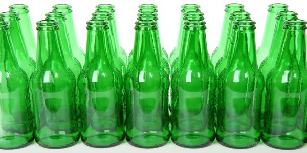 Empty glass bottles can be recycled to be used as a carb cap