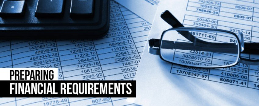 Financial requirements for delivery business