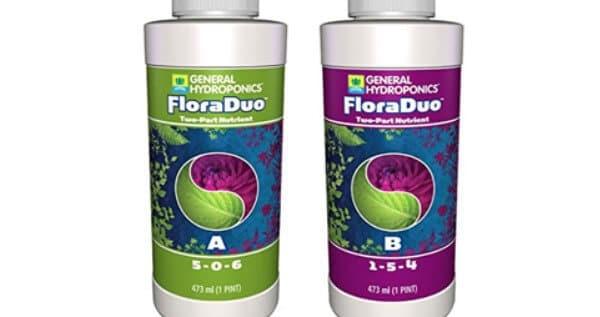 General Hydroponics FloraDuo - A and B