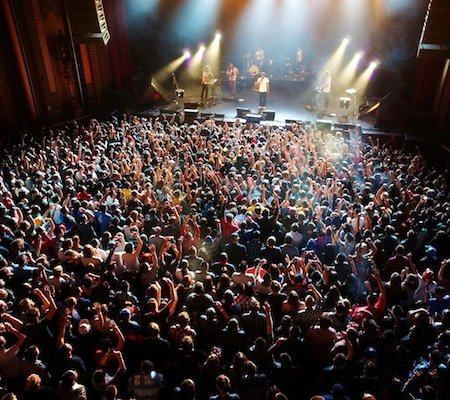Go to a concert while stoned