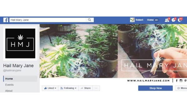 Hail Mary Jane Facebook Page