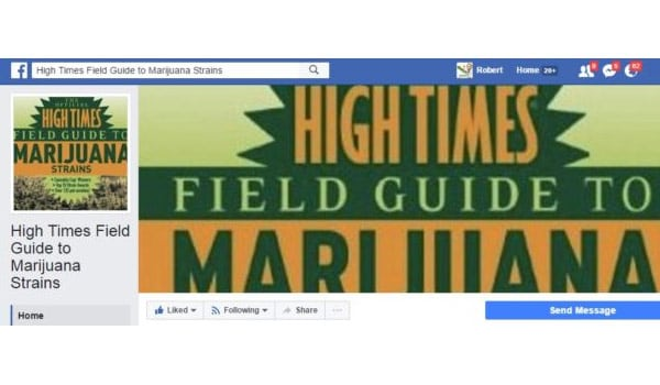 High Times Field Guide to Marijuana Strains Facebook Page