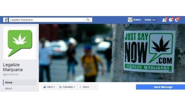 Legalize Marijuana Facebook Page