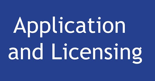 Licensing-requirements