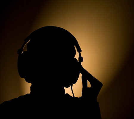 Listen to music in the dark while stoned