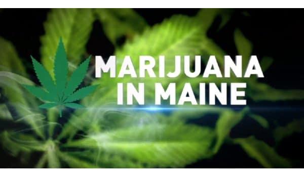 Maine with marijuana