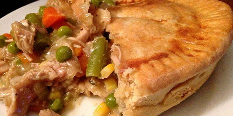 Cannabis chicken pot pie recipe