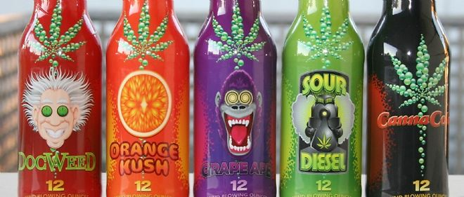 Marijuana-infused Drinks and Edibles