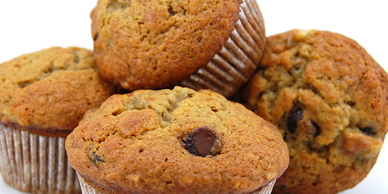 Recipe for the best cannabis banana muffins
