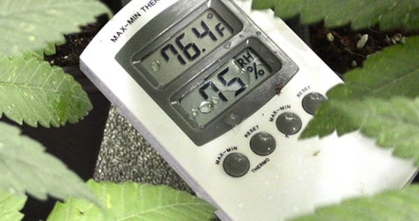 Measuring temperature and humidity
