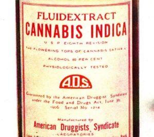 Medical cannabis history