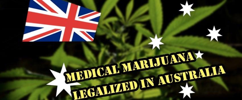 Medical marijuana in Australia
