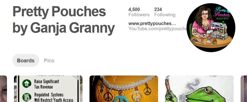 Pretty Pouches by Ganja Granny