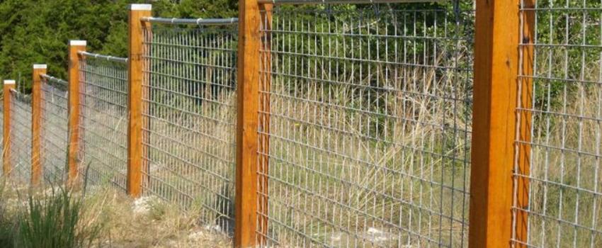 fence for keeping deer away