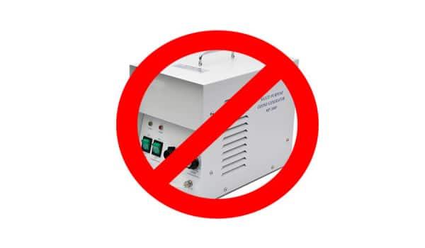 Stay away from ozone generators marijuana odor