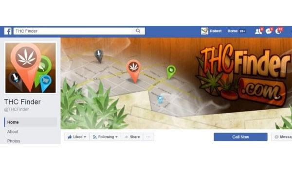 THC Finder Facebook Page