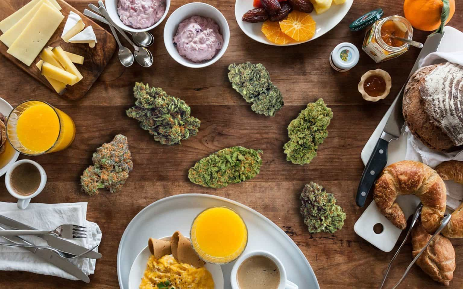 The Best Cannabis and Food Pairings