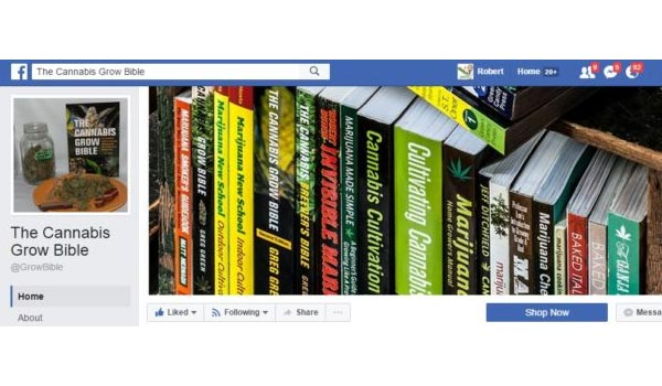 The Cannabis Grow Bible Facebook Page