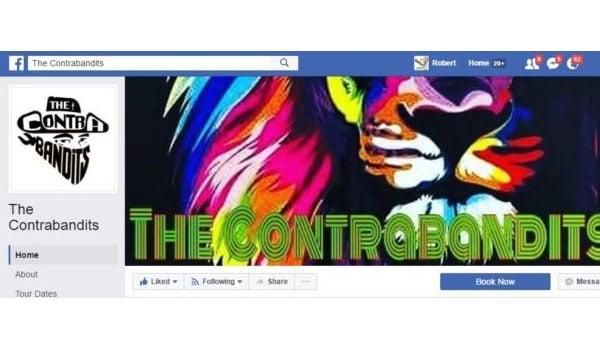 The Contrabandits Facebook Page