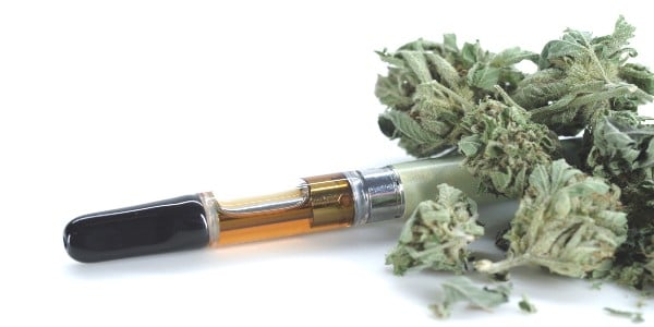 The smell of weed in your home - use vape for less odor