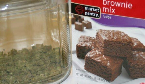 Using Brownie Mix