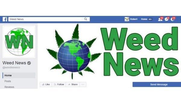 Weed News Facebook Page