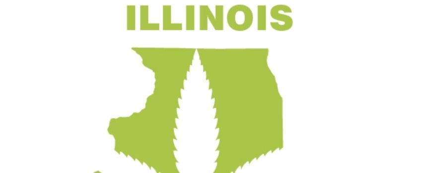 Illinois dispensaries green logo