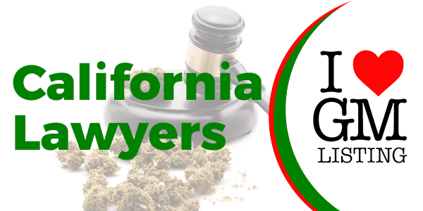 I Love Growing Marijuana logo with dried cannabis buds and a gavel in the background