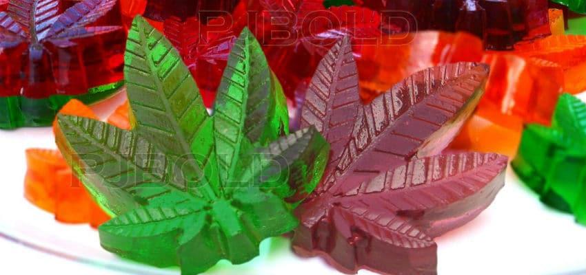 halloweed party weed gummies