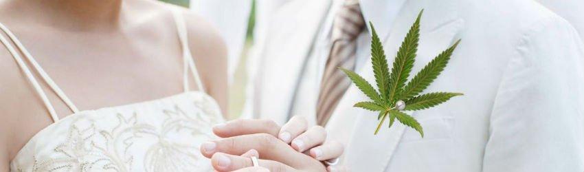 i want a weed wedding