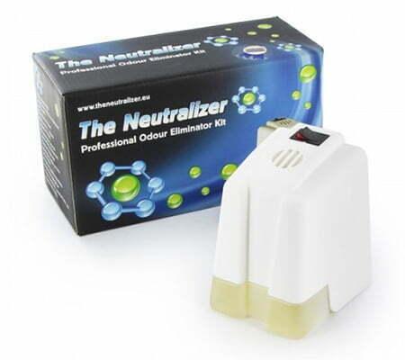The Neutralizer to prevent cannabis odor